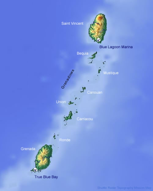 Saint Vincent, Grenada and The Grenadines