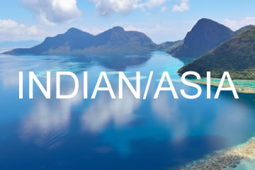 Indian Ocean & Asia Charter Yachts