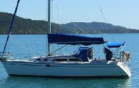Whitsundays Yacht Charter: Catalina 350 Monohull From $3,301/week 2 cabin/1 head sleeps 4