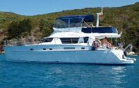 Whitsundays Yacht Charter: Cumberland 46 From $10,290/week 4 cabin/4 head sleeps 10 Air Conditioning, Generator.