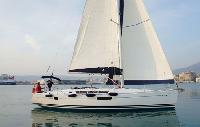 Baja Boat Rental: Sun Odyssey 449 Monohull From $2,964/week 4 cabins/2 head sleeps 10 Dock