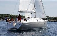 Barcelona Yacht Charter: Elan 344 Impression From €1,275/week 3 cabin/ 1 head sleeps 6/8