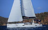 BVI Yacht Charter Beneteau 45.4 Monohull From $3815/week 4 cabin/2 head sleeps 8/10 Shore Power