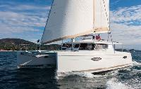 BVI Yacht Charter: Helia 44 Catamaran From $6,700/week 3 cabin/3 head sleeps 8/9 Air conditioning,