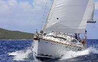BVI Boat Rental Jeanneau 54DS, Namaste II, From $7,695/week 4 cabin/ head sleeps 8/10 Air