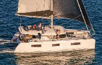 BVI Yacht Charter: Lagoon 46 Catamaran From $10,500/week 4 dbl cabin 1 sgl/4 head sleeps
