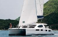 BYI Yacht Charter Leopard 464 Catamaran From $896/day 4 cabin/4 head sleeps 8/11 Air conditioning,