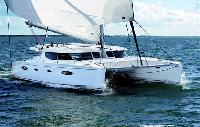 Corsica Yacht Charter: Salina 48 Evolution Catamaran From $4,200/week 4 cabin/4 head sleeps 12