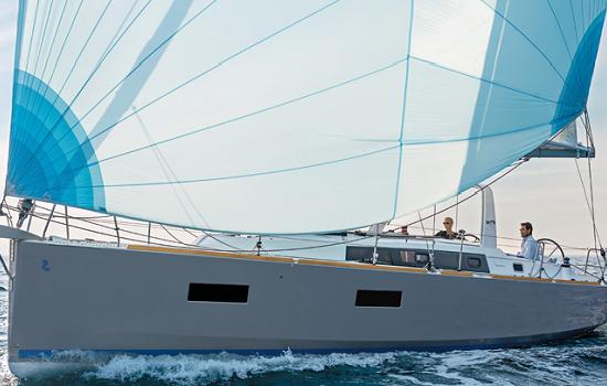 Spain Yacht Charter: Oceanis 38 Monohull From $1,608/week 3 cabins/1 head sleeps 8