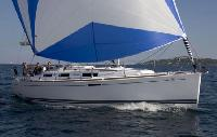 French Riviera Yacht Charter: Dufour 325 Monohull From $1,110/week 2 cabin/1 head sleeps 4/6