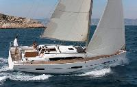 French Riviera Yacht Charter: Dufour 412 Monohull From $1,512/week 3 cabin/2 head sleeps 8 Dockside