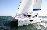 Italy Yacht Charter Leopard 384 Catamaran From $2,870/week 4 cabin/2 head sleeps 8/10 Dock Side