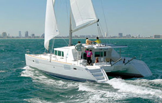 The Beautiful Lagoon 44 Catamaran