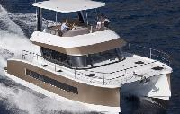 New Caledonia Yacht Charter: Motoryacht 37 Power Catamaran From $5,592/week 3 cabin/2 head sleeps 6
