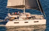 Greece Yacht Charter: Lagoon 46 Monohull From $4,626/week 3 cabin/3 heads sleeps 10 Air Conditioning,