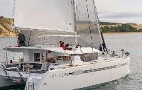 Seychelles Yacht Charter: Lagoon 450 Sportop Catamaran From $5,862/week 4 cabin/4 head sleeps 12 Air
