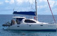 Seychelles Yacht Charter: Leopard 4000 Catamaran From €3,000/day 4 cabin/2 head sleeps 8