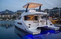 Saint Lucia Yacht Charter Leopard 434 Power Catamaran From $7,805/week 4 cabins/2 heads sleeps 10