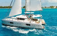 St. Vincent Yacht Charter: Lagoon 42 O.V. Catamaran From €4,500/week 3 cabin/2 head sleeps 6