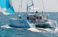 St. Vincent Yacht Charter: Lagoon 450 Catamaran From €5,500/week 4 cabin/2 head sleeps 12