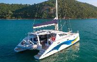 Thailand Yacht Charter: Island Spirit 410 Catamaran From $4,288/week 4 cabin/2 head sleeps 10
