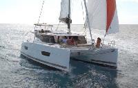 U.S. Virgin Islands Yacht Charter: Lucia 40 Catamaran From $6,300/week 4 cabins/2 head sleeps 10